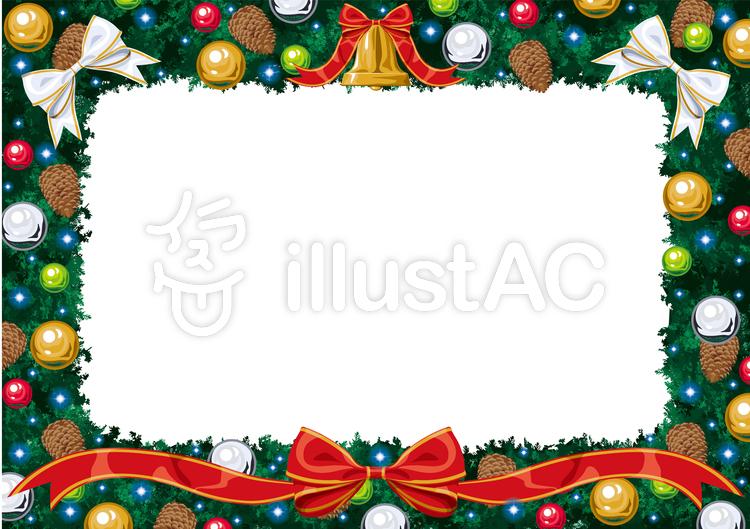 クリスマス フレームイラスト No 939064無料イラストならイラストac