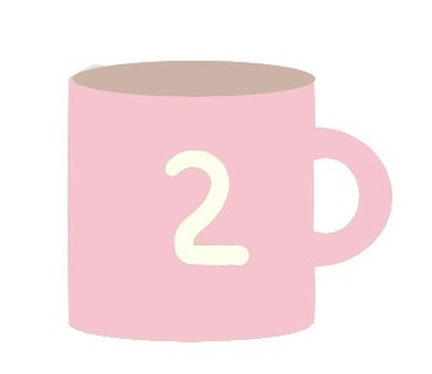 ② cup