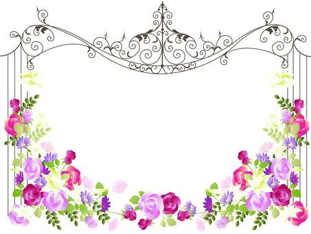 花フレーム48