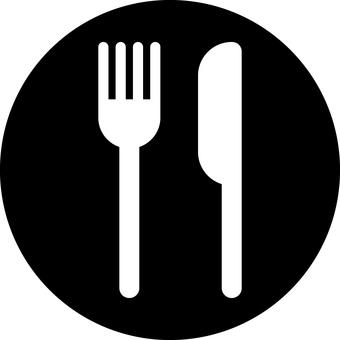 Restaurant _ Pictosign _ 02 _ black