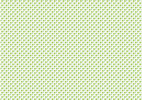 Star pattern background (green)