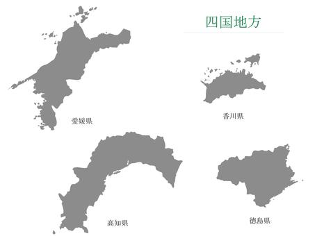Prefecture _ Shikoku region