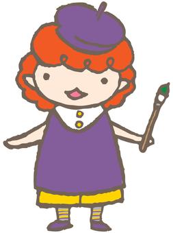 Fairy Children - Painter