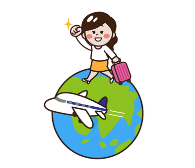 Women traveling worldwide · traveling abroad · moving abroad