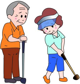 Park Golf Mature age