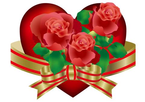 Heart & Roses 4