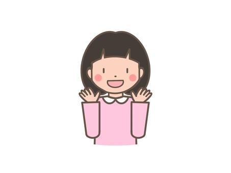 미소의 소녀
