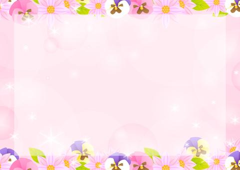 Autumn flower frame 2
