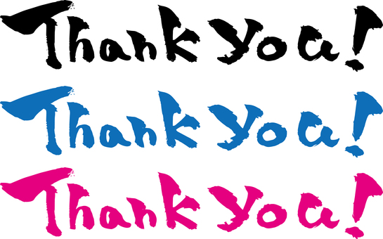 "Brush ""Thank you"" color"