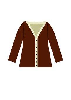 Cardigan (brown)
