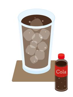 Cold drink cola