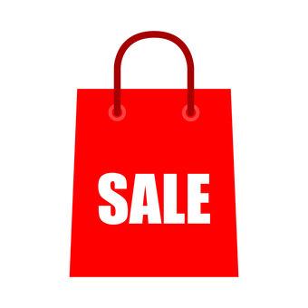 Sale decoration _ paper bag