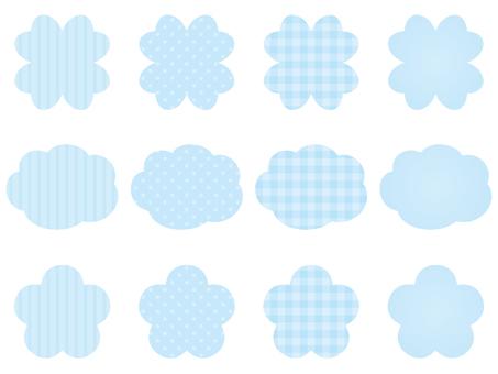 Clover · cloud · flower -4