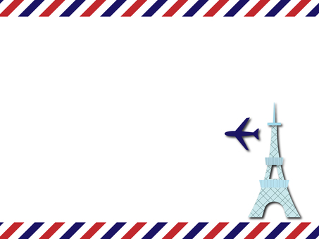 The Eiffel Tower and the plane of the plane