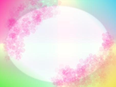 Light cherry frame