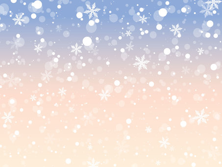 Snowy gradient background