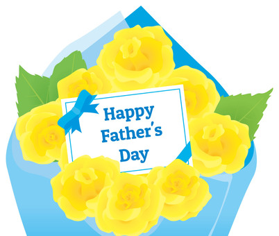 Father's Day Bouquet of Yellow Roses 02