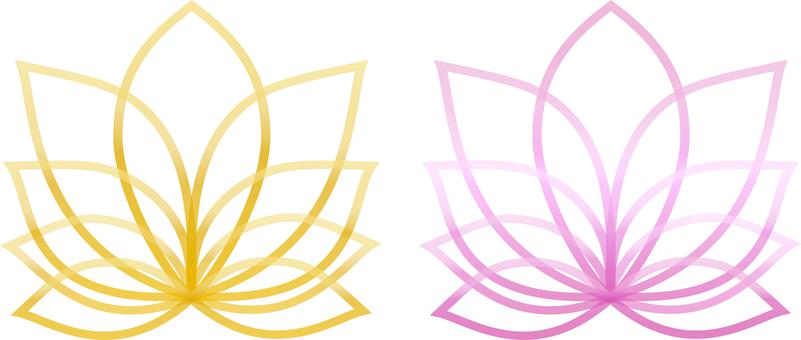 A lotus-like image