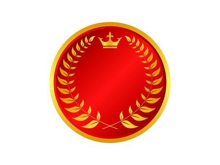 Medal icon 16 (red)