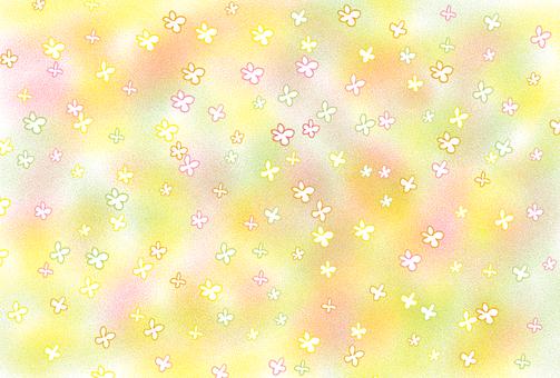 밝은 꽃 카드