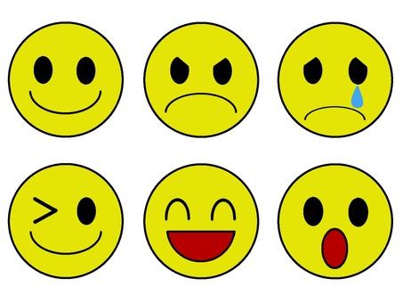 Facial expression icon