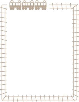Railway frame