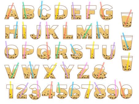 Tapioca alphabet