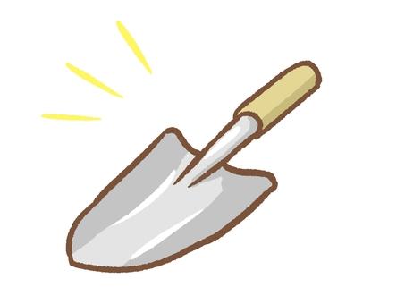 Shovel and shovel