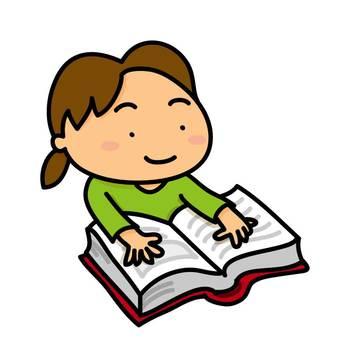 閱讀和女孩