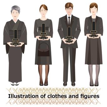 人物とファッション 礼服2