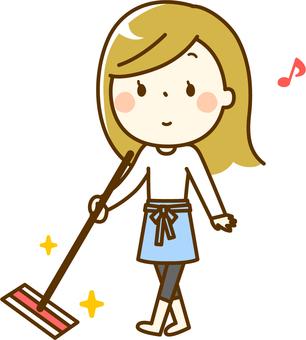 家庭主婦要清潔