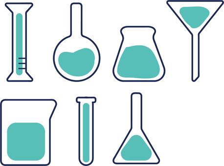 Flask beaker cylinder
