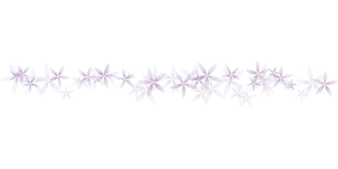 Purple flower line