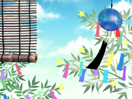 Tanabata and wind bell