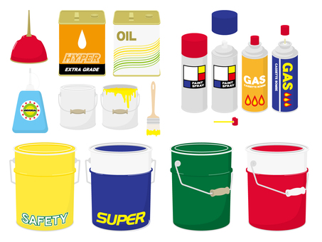 Oil cans - spray cans etc.