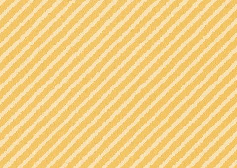 Naname stripe orange