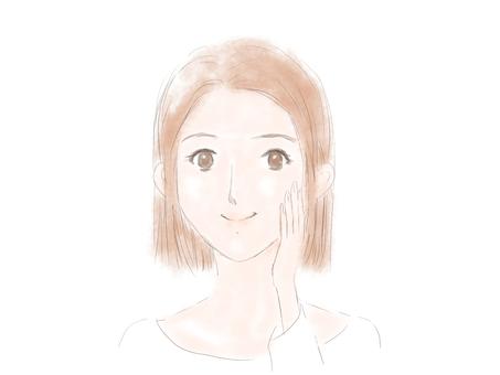 Female face 2