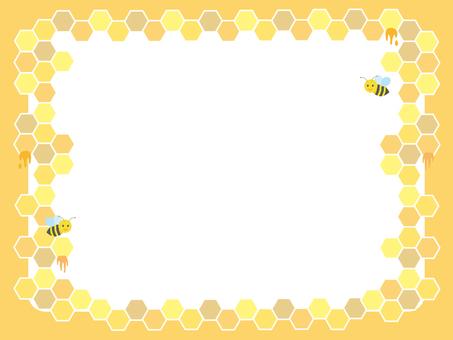 Honey frames nest frame Orange