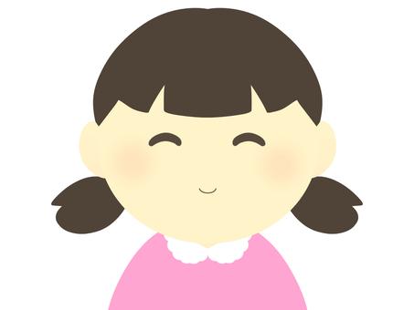 女孩(微笑)