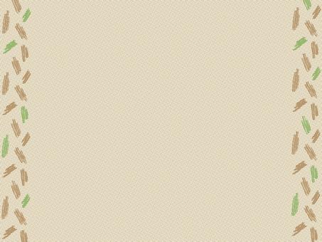 Simple brown frame