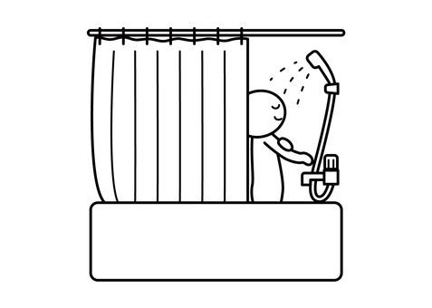 【Theme】 Stickman - In the shower