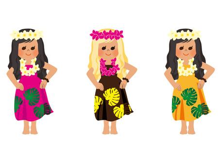 Hula Girl 02