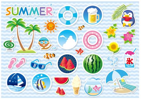 여름 아이템 여러가지 (추가 버전)