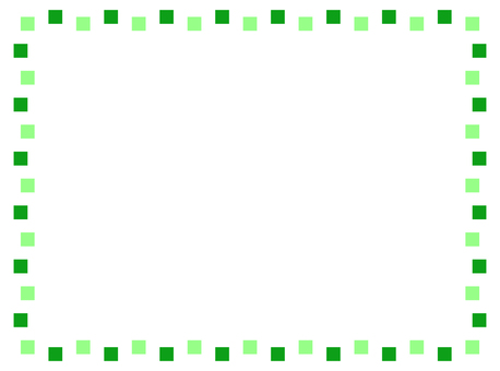 Rugged green frame