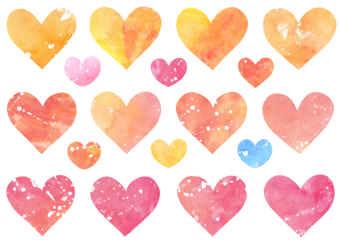 Heart material 6