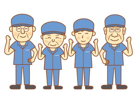 Manufacturing staff - Senior 1