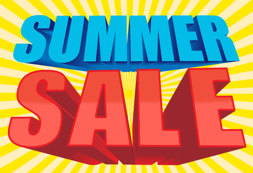 Summer sale (with background)