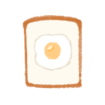Bread and eggs