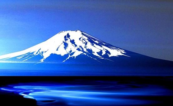 Blue Mountain Fuji
