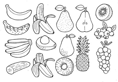 과일 3 바나나